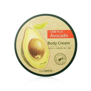 THE SAEM Care Plus Avocado Body Cream 300 ml Крем для тела с экстрактом авокадо