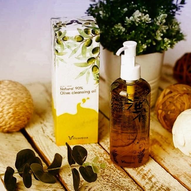ELIZAVECCA Natural 90% Olive Cleansing Oil/ Гидрофильное масло с экстрактом оливы 300мл