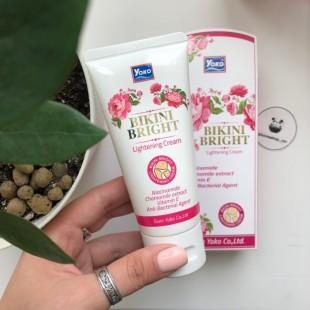 Yoko Bikini Bright Cream/Отбеливающий крем для зоны бикини