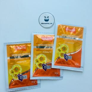 LOLANE Hair Treatment Sunflower Extract/ Маска для волос с экстрактом семян подсолнечника 10гр