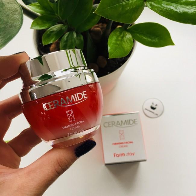FARMSTAY Ceramide Firming Facial Cream/ Укрепляющий крем для лица с керамидами 50мл