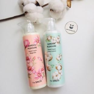 THE SAEM Garden Pleasure Hand Cream/ Крем для рук с цветочными экстрактами 250гр