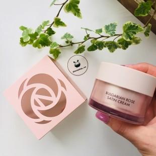 Heimish Bulgarian Rose Satin Cream/ Крем для лица с экстрактом болгарской розы 55мл