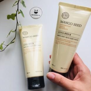 THE FACE SHOP Mango Seed Cleansing Foam/ Увлажняющая пенка для умывания с маслом манго 150мл