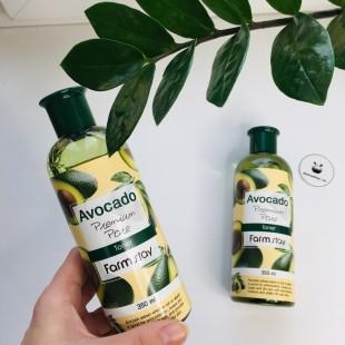 Farmstay Avocado Premium Pore Toner/ Увлажняющий тонер для лица 350мл
