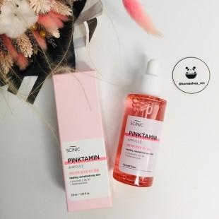 Scinic Pinktamin Ampoule/ Высококонцентрированная розовая ампула 50мл
