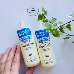 MILK BAOBAB Hair Oil Mist/ Спрей для волос с маслами 120мл
