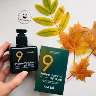 MASIL 9 Protein Perfume Silk Balm/ Протеиновый несмываемый бальзам 180мл