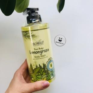Soleaf Pure Body Lemongrass Body Wash/ Гель для душа с лемонграссом 500мл