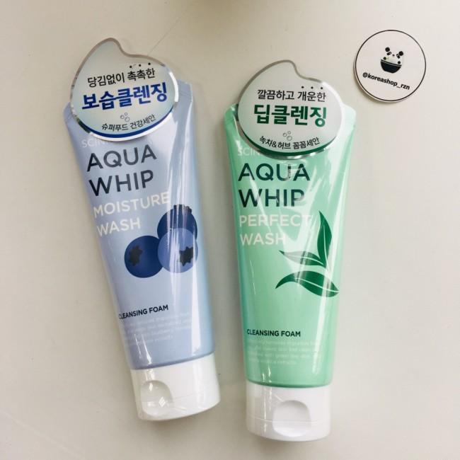 Scinic Aqua Whip Moisture Wash/ Пенка для умывания 120мл