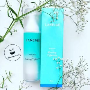 Laneige Mini Pore Blurring Tightener/Эссенция для сужения пор с ментоловой водой и экстрактом сосновых иголок 40 мл