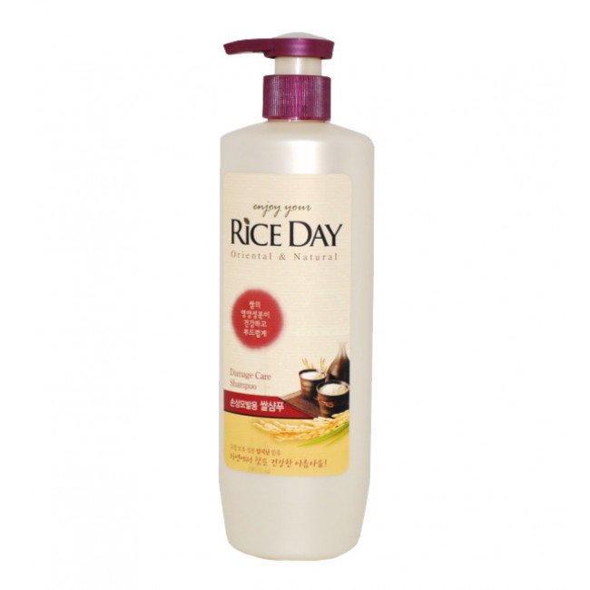 CJ Lion Шампунь для повреждённых волос Riceday 550 г