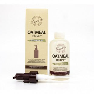 Calmia Oatmeal Therapy Cleansing Oil 200ml/Гидрофильное масло
