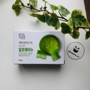 MUKUNGHWA Fresh Aloe Soap/Мыло туалетное с экстрактом алоэ 100 г.