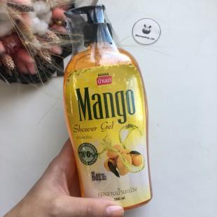 Banna shower gel Mango/ Гель для душа манго 500мл
