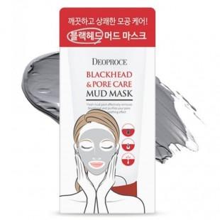 DEOPROCE Blackhead & Pore Care Mud Mask/ Маска грязевая для очищения и сужения пор 60гр