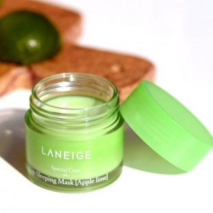 Laneige Lip sleeping mask/ Ночная маска для губ яблоко-лайм 20г