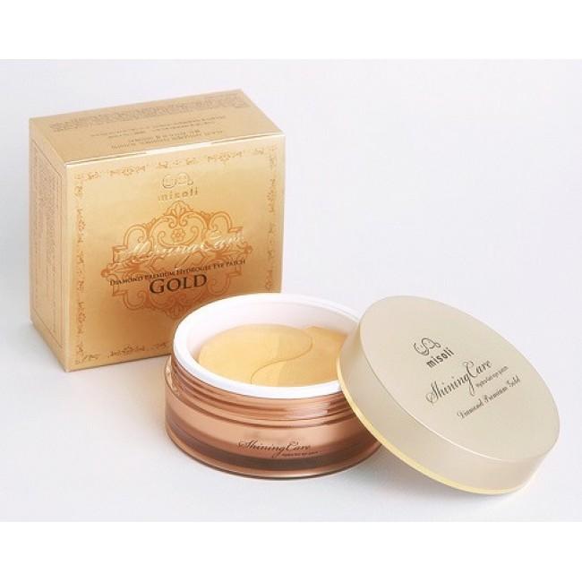 Misoli Hydrogel Eye Patch Diamond Premium Gold Патчи для глаз премиум класса