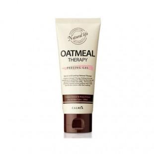 Calmia OATMEAL Therapy Peeling Gel/Пилинг-гель с экстрактом Овса