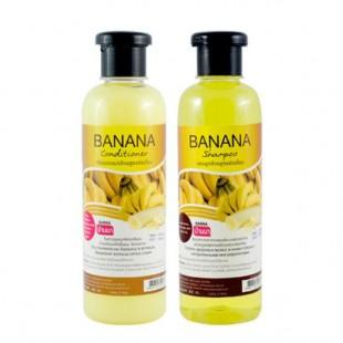 Banna shampoo & conditioner banana/Набор Шампунь и Кондиционер для волос Банан 360ml