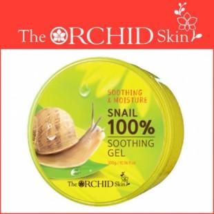 The Orchid Skin Snail Soothing Gel/Многофункциональный гель для лица и тела с муцином улитки 300 мл