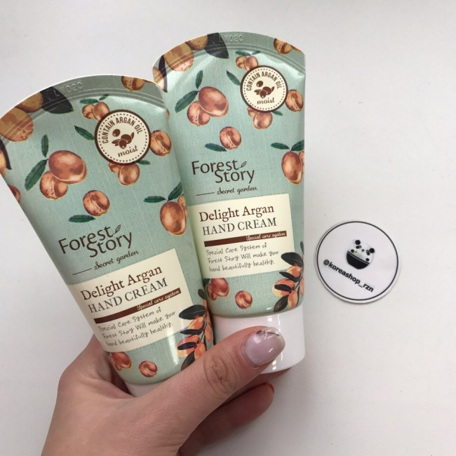 WELCOS Forest Story Secret Garden Delight Argan Hand Cream/ Форест стори Крем для рук с аргановым маслом 68 гр