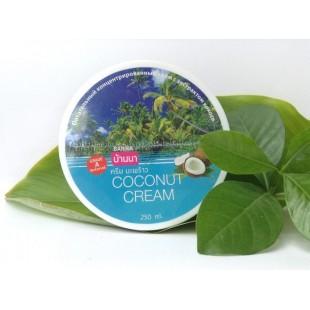 BANNA Coconut Cream/ Крем для тела с кокосом 250мл