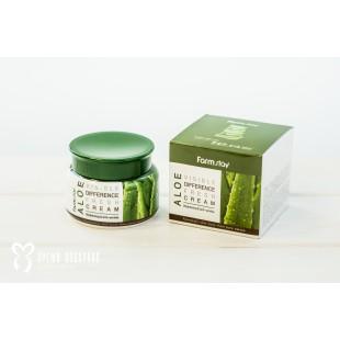 FARMSTAY Visible Difference Fresh Cream Aloe/ Освежающий крем с алоэ вера 100мл
