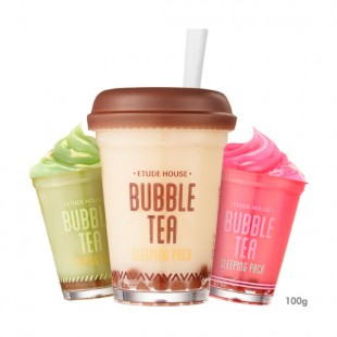 Etude House Bubble Tea Sleeping Pack/Ночная маска 100g