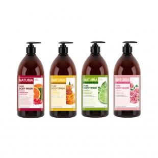 EVAS Naturia Pure Body Wash/Гель для душа на основе натуральных экстрактов