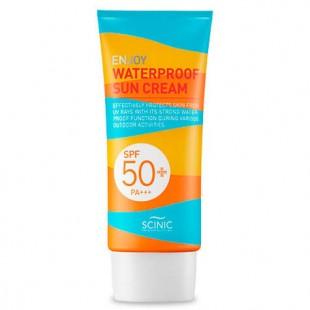 Scinic Enjoy Waterproof Sun Cream SPF50+ PA+++/Водостойкий солнцезащитный крем SPF50+ PA+++ 50 ml