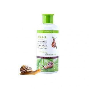 FarmStay Visible Difference Moisture Emulsion/увлажняющая эмульсия с экстрактом улитки