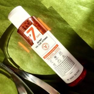 MAY ISLAND 7 Days Secret Vita Plus-10 Toner/ Витаминизированный тонер для лица 155мл