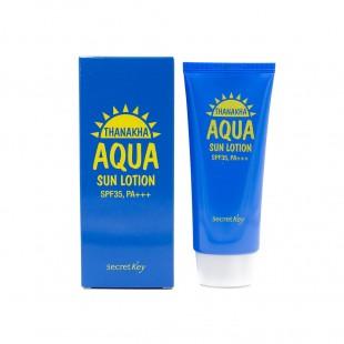 SECRET KEY Thanakha Aqua Sun Lotion SPF35 PA+++/Увлажняющий солнцезащитный лосьон  SPF35 PA+++