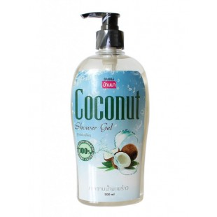 "BANNA Coconut Shower Gel / Гель для душа ""Кокос"" ( 500 мл)"