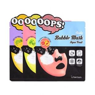 berrisom soda bubble mask/ восстанавливающая маска для ухода за  лицом.