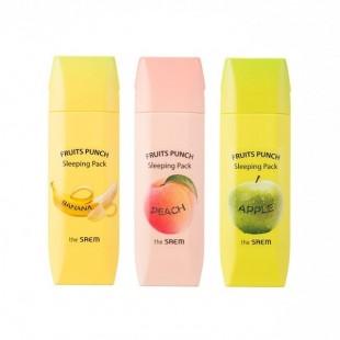 The Saem Fruits Punch Sleeping Pack-Фруктовые ночные маски с витаминным комплексом