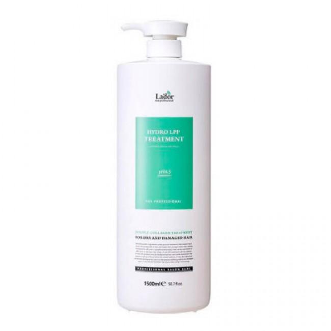 LADOR Eco Hydro LPP Treatment 1500 ml/Увлажняющая маска для сухих и поврежденных волос 1500 мл