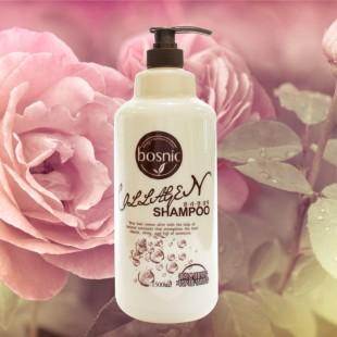 BOSNIC Collagen Shampoo/Шампунь для волос с коллагеном 1500мл