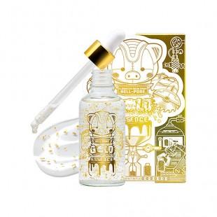 ELIZAVECCA Milky Piggy Hell-Pore Gold Essence 50ml/Увлажняющая омолаживающая эссенция с 24-каратным золотом