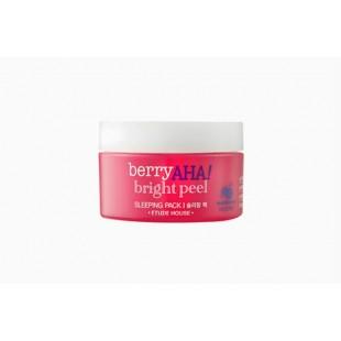 ETUDE HOUSE Berry AHA Bright Peel Sleeping Pack/Ночная маска с эффектом пилинга для сияния кожи
