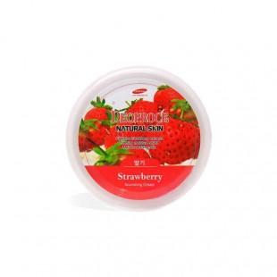 DEOPROCE Natural Skin Strawberry Nourishing Cream/ Питательный крем для лица и тела с экстрактом клубники