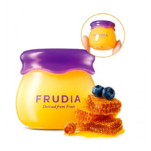 Frudia Blueberry Hydrating Honey Lip Balm/ Бальзам для губ с черникой и медом 10гр