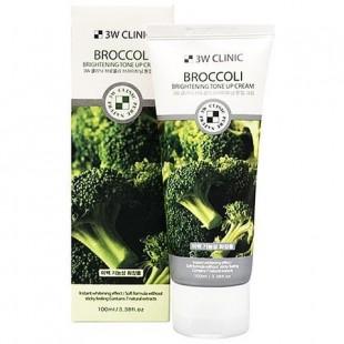 3W CLINIC Broccoli Brightening Tone Up Cream/ Крем для лица с экстрактом брокколи 100мл