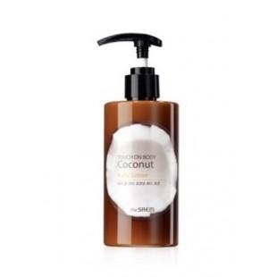 The saem coconut body lotion 260 ml Лосьон для кожи тела с кокосовой водой