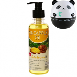 Banna Pineapple Oil/ Массажное масло с экстрактом ананаса 250мл