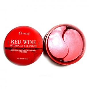 ESTHETIC HOUSE Red Wine Hydrogel Eye Patch/Гидрогелевые патчи для кожи вокруг глаз с экстрактом красного вина
