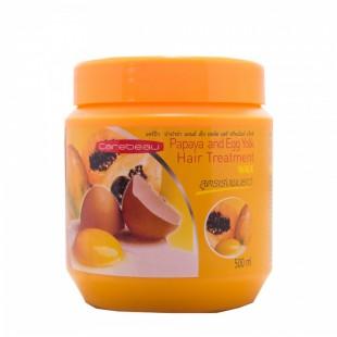 Carebeau Papaya and Egg Yolk Hair Tretment/Маска для волос с папайей и яичным желтком 500ml