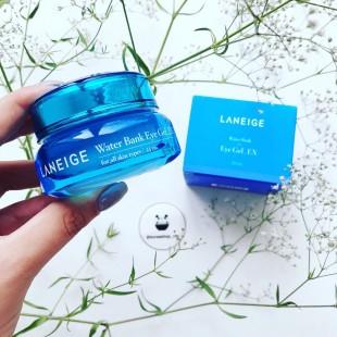 Laneige water bank Eye Gel / Гель крем для зоны вокруг глаз с эффектом увлажнения для сухого типа кожи 25 мл