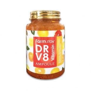 FARMSTAY DR-V8 Vitamin Ampoule/Многофункциональная витаминная сыворотка